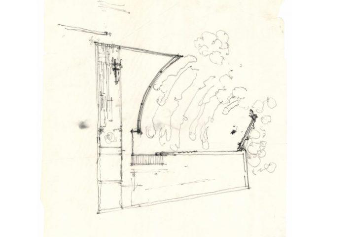 Sketch drawing, Studio Aalto