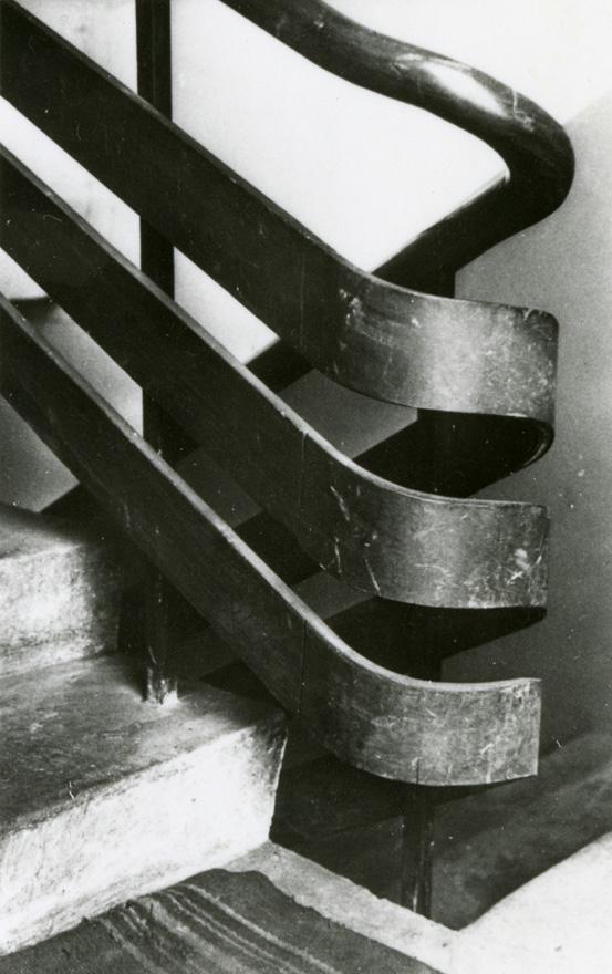 Detail of railing, Villa Tammekann