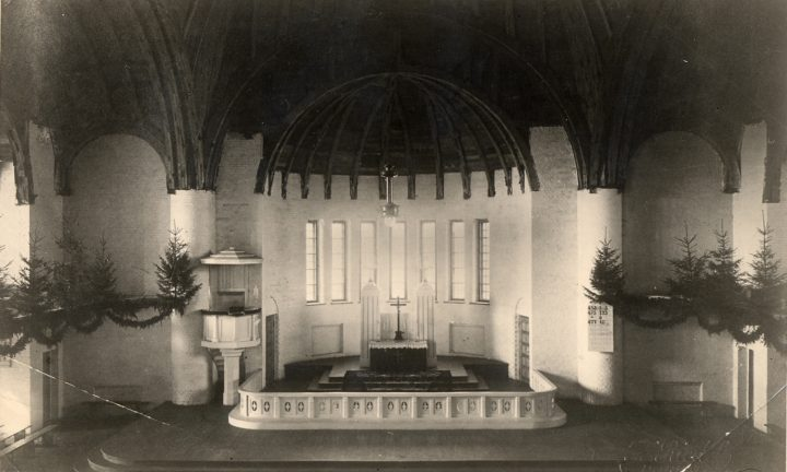 After completion in 1917, St Paul's Church