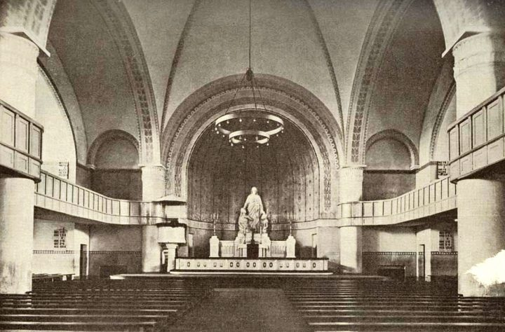 Church hall in 1924, St Paul's Church
