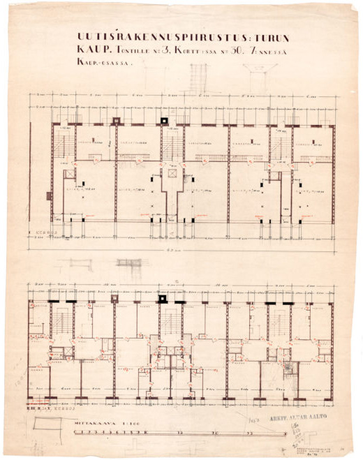Floor plan, Standard Apartment House