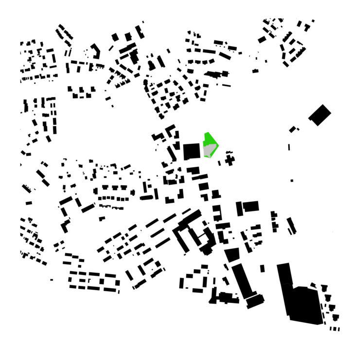 Urban structure, Kirkkonummi Main Library Fyyri